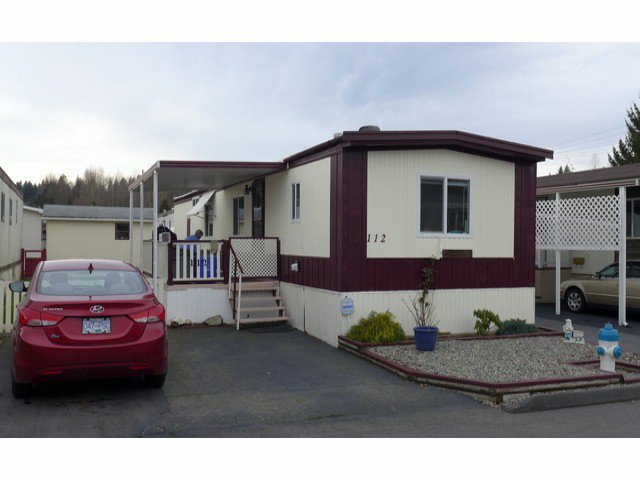 "Main Photo: 112 3300 HORN Street in Abbotsford: Central Abbotsford Manufactured Home for sale in ""Georgia Park"" : MLS®# F1401893"