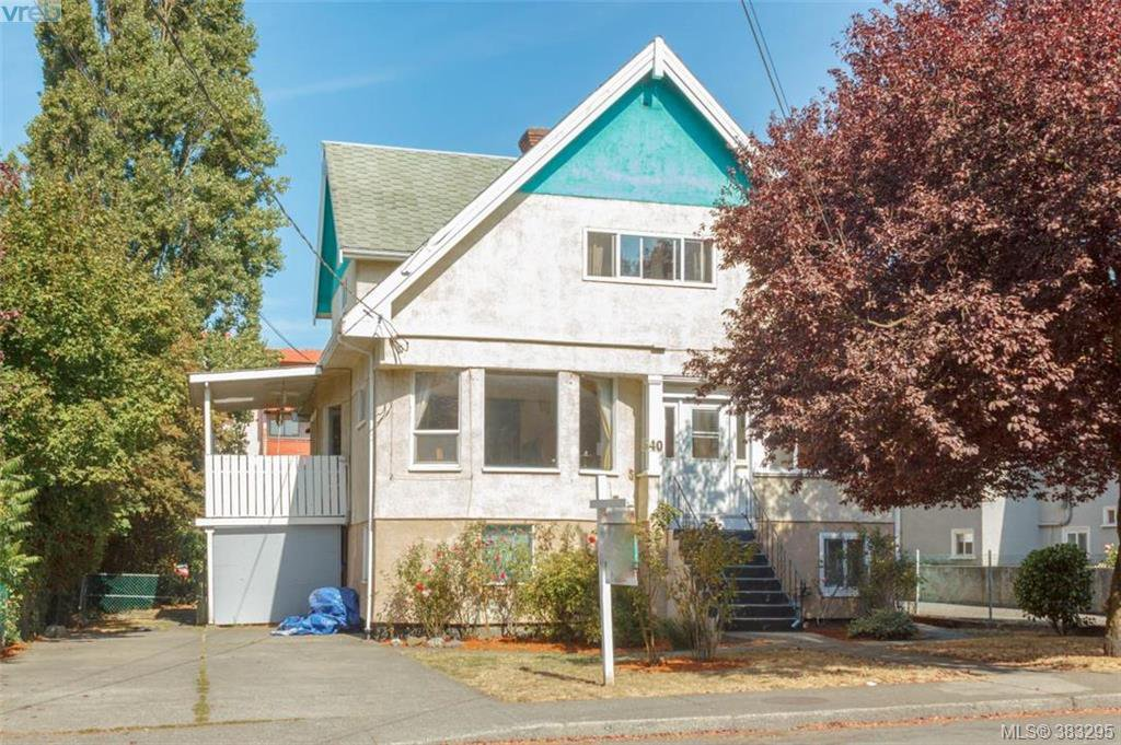 Main Photo: 540 Dunedin Street in VICTORIA: Vi Burnside Revenue Duplex for sale (Victoria)  : MLS®# 383295