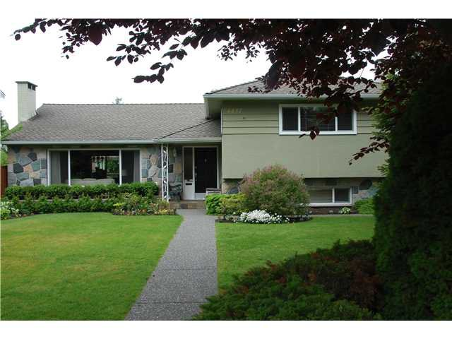 Main Photo: 4457 MAPLE ST in Vancouver: Quilchena House for sale (Vancouver West)  : MLS®# V891179
