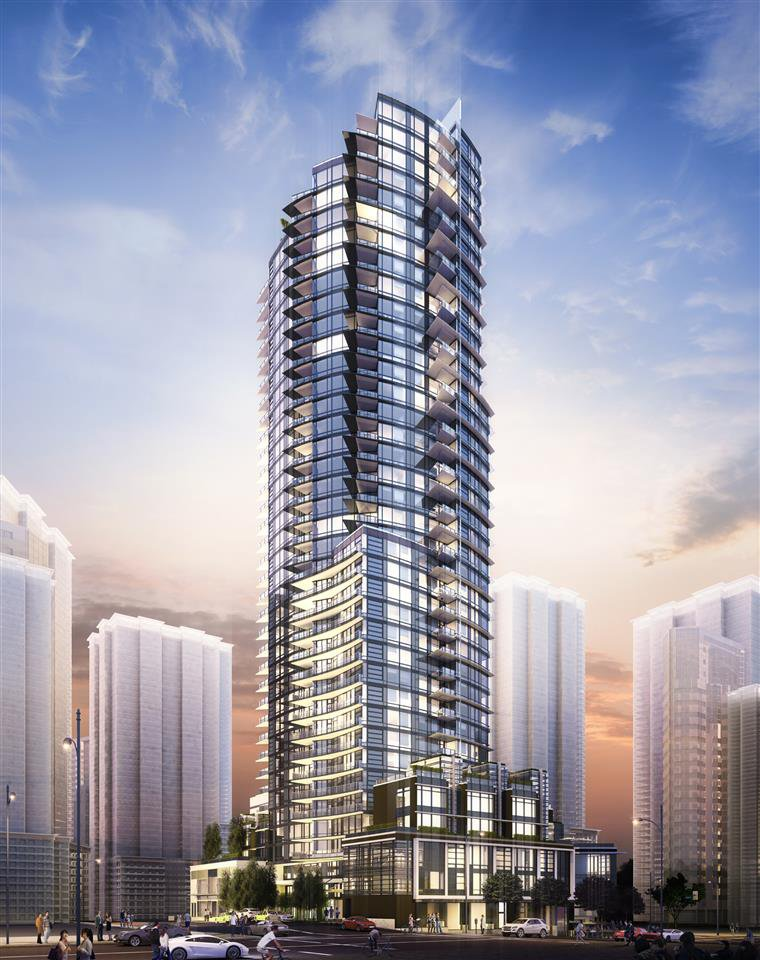 "Main Photo: 2702 1283 HOWE Street in Vancouver: Downtown VW Condo for sale in ""Tate"" (Vancouver West)  : MLS®# R2276391"