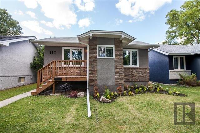 Main Photo: 117 Ellesmere Avenue in Winnipeg: Residential for sale (2D)  : MLS®# 1816514