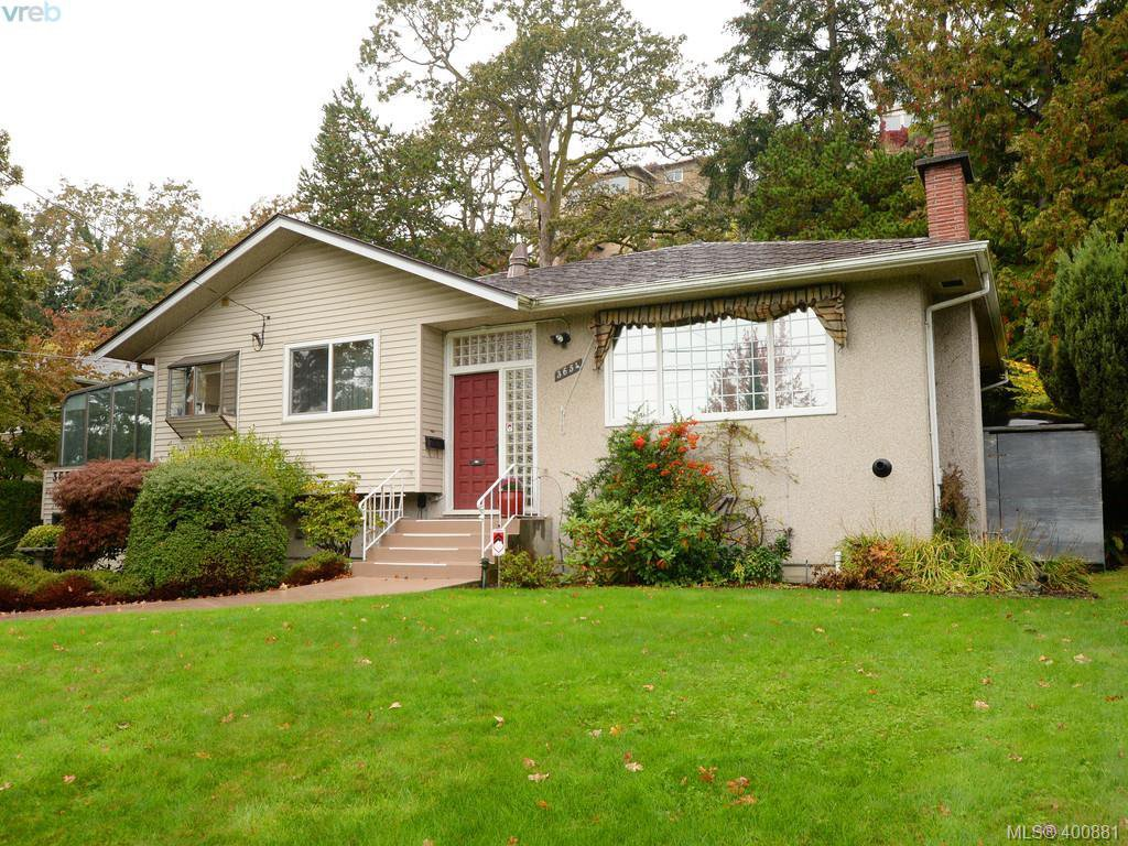 Main Photo: 3654 Cedar Hill Rd in VICTORIA: SE Cedar Hill Single Family Detached for sale (Saanich East)  : MLS®# 799917