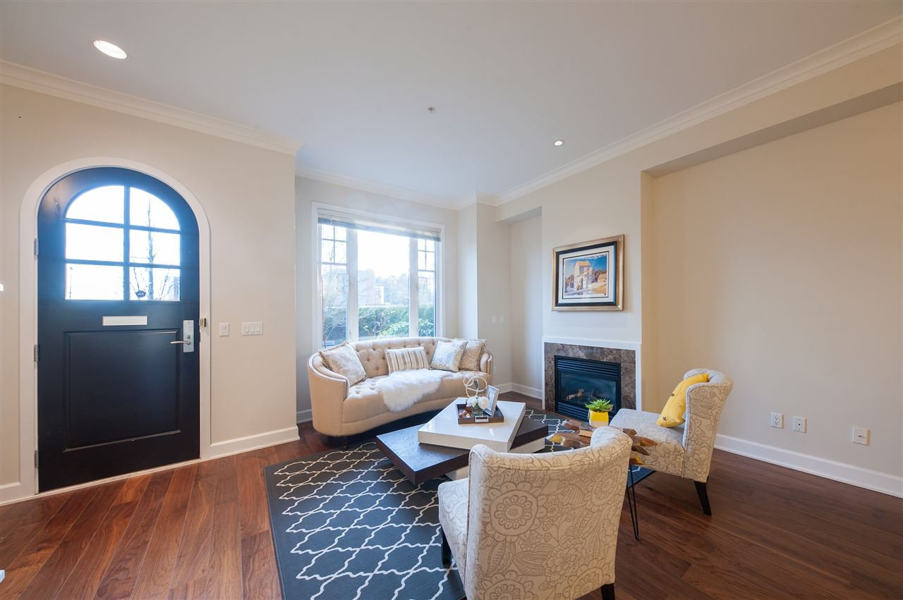 Photo 3: Photos: 991 W 38TH AVENUE in Vancouver: Cambie Townhouse for sale (Vancouver West)  : MLS®# R2350357