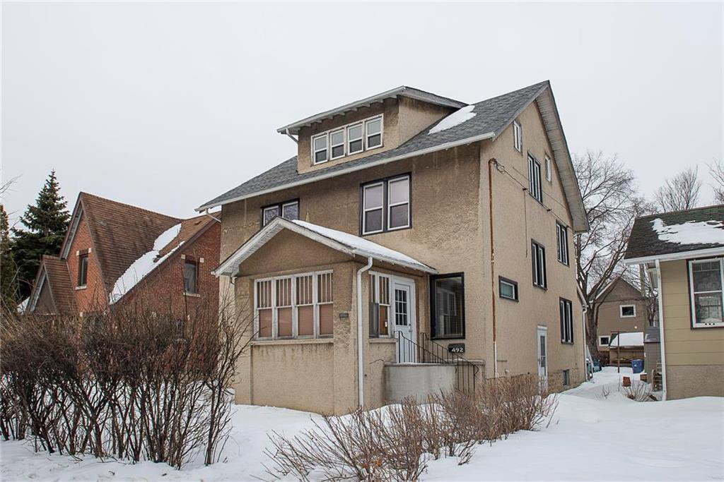 Main Photo: 492 Dominion Street in Winnipeg: Wolseley Residential for sale (5B)  : MLS®# 202005747
