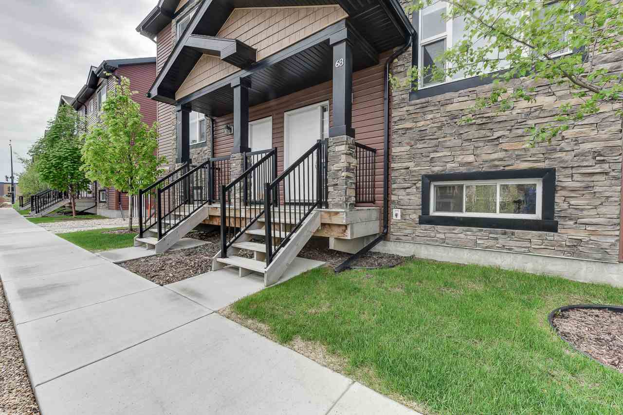 Main Photo: 68 301 PALISADES Way: Sherwood Park Townhouse for sale : MLS®# E4199519