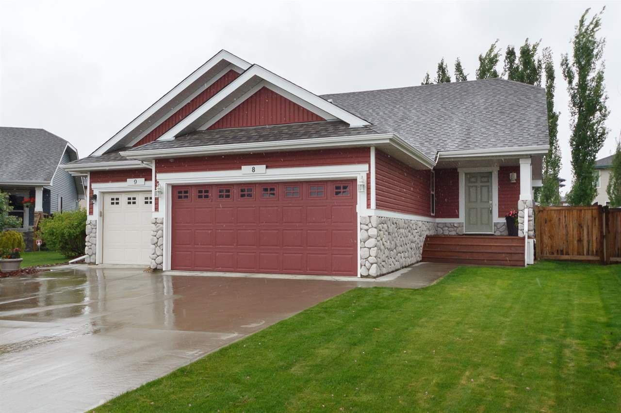 Main Photo: 8 NEVIS Close: St. Albert House Half Duplex for sale : MLS®# E4202513