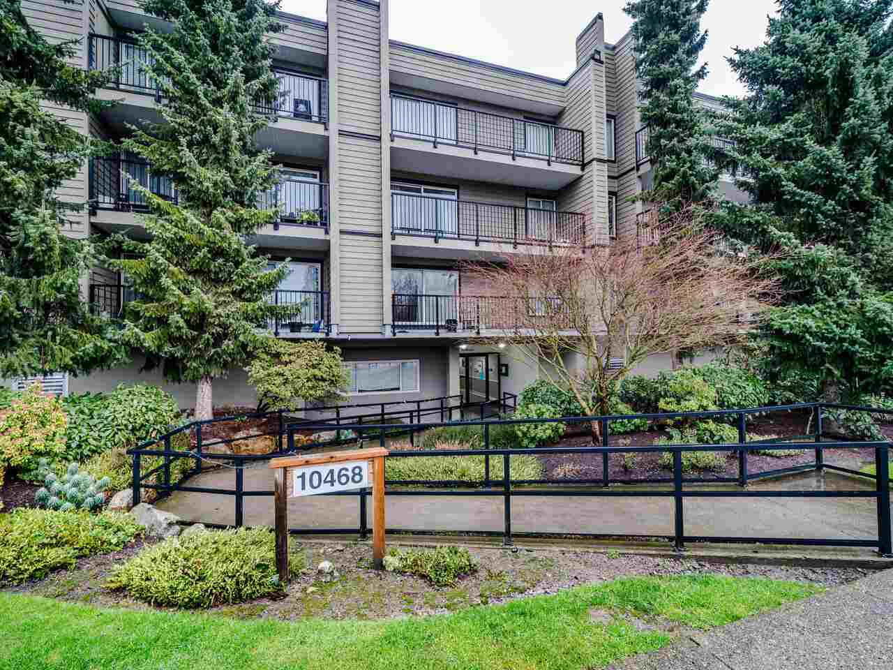 "Main Photo: 206 10468 148 Street in Surrey: Guildford Condo for sale in ""Guildford Greene"" (North Surrey)  : MLS®# R2528190"