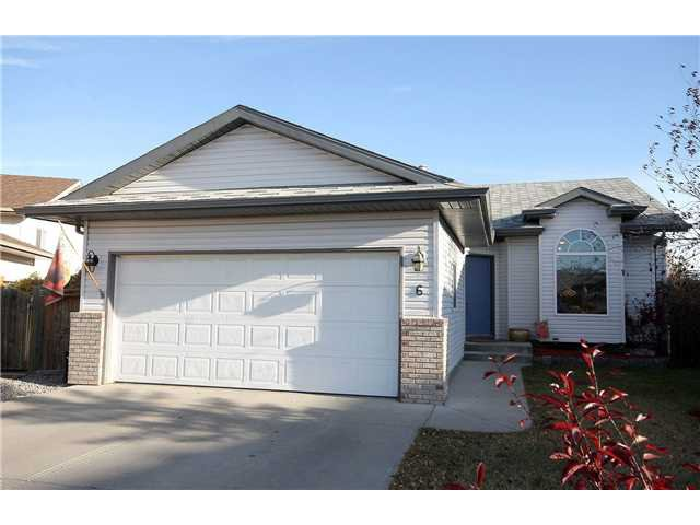 Main Photo: 6 WEST SPICER Place: Cochrane Residential Detached Single Family for sale : MLS®# C3589463
