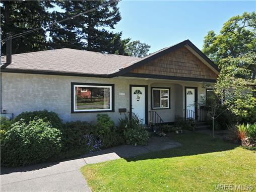 Main Photo: 1115 Norma Crt in VICTORIA: Es Rockheights Half Duplex for sale (Esquimalt)  : MLS®# 675692