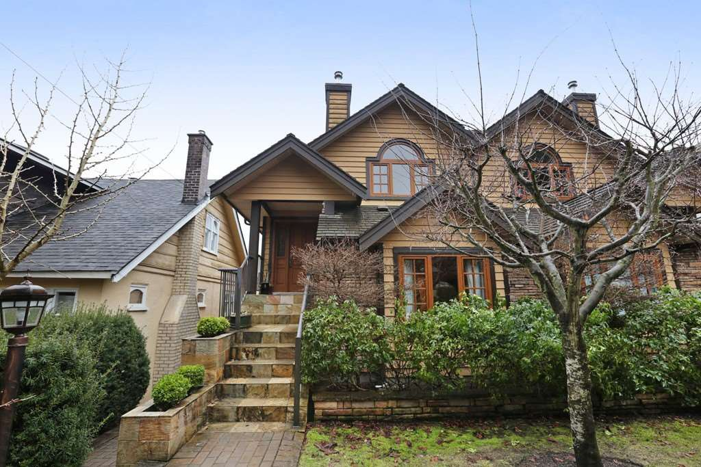 Main Photo: 1276 DUCHESS Avenue in West Vancouver: Ambleside 1/2 Duplex for sale : MLS®# R2146028