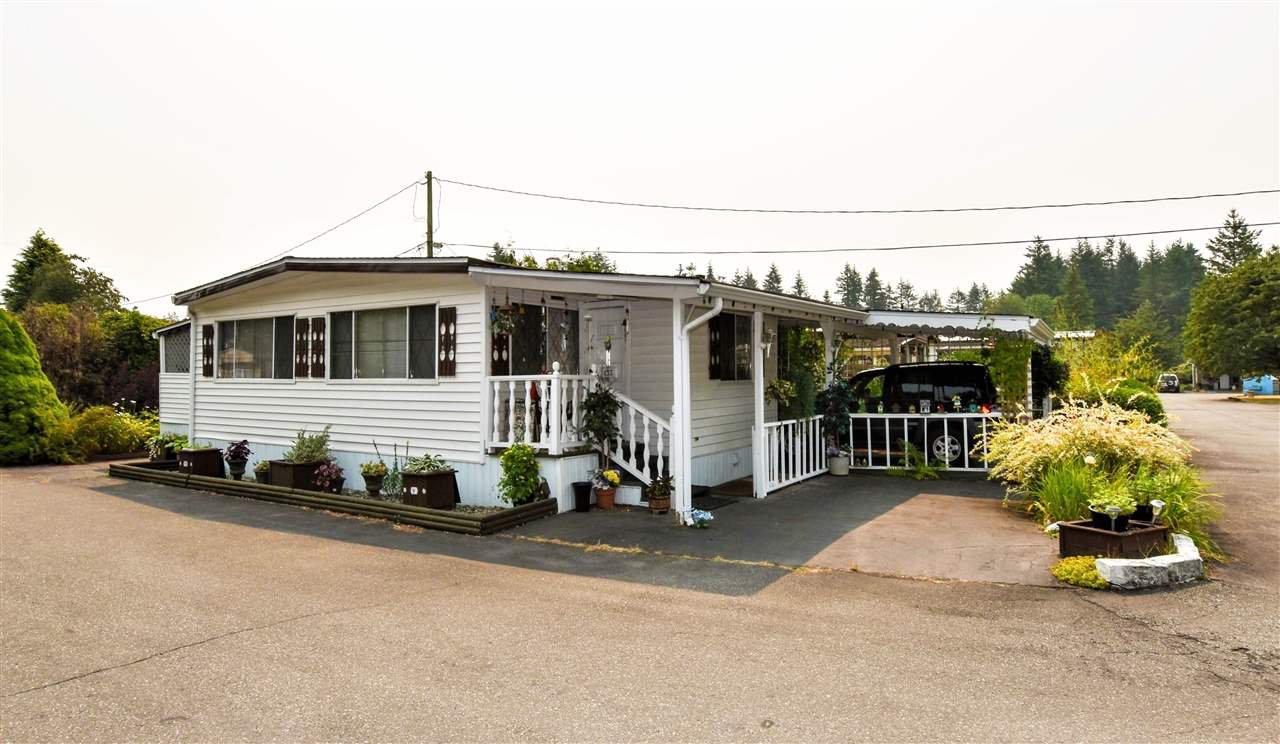 "Main Photo: 133 3031 200 Street in Langley: Brookswood Langley Manufactured Home for sale in ""Cedar Creek Estates"" : MLS®# R2194565"