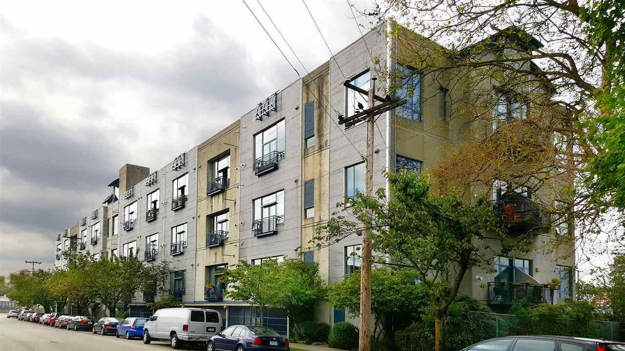"""Photo 2: Photos: 208 2001 WALL Street in Vancouver: Hastings Condo for sale in """"Cannery Row"""" (Vancouver East)  : MLS®# R2196751"""