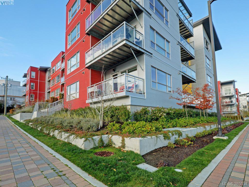 Main Photo: 108 785 Tyee Road in VICTORIA: VW Victoria West Condo Apartment for sale (Victoria West)  : MLS®# 385034