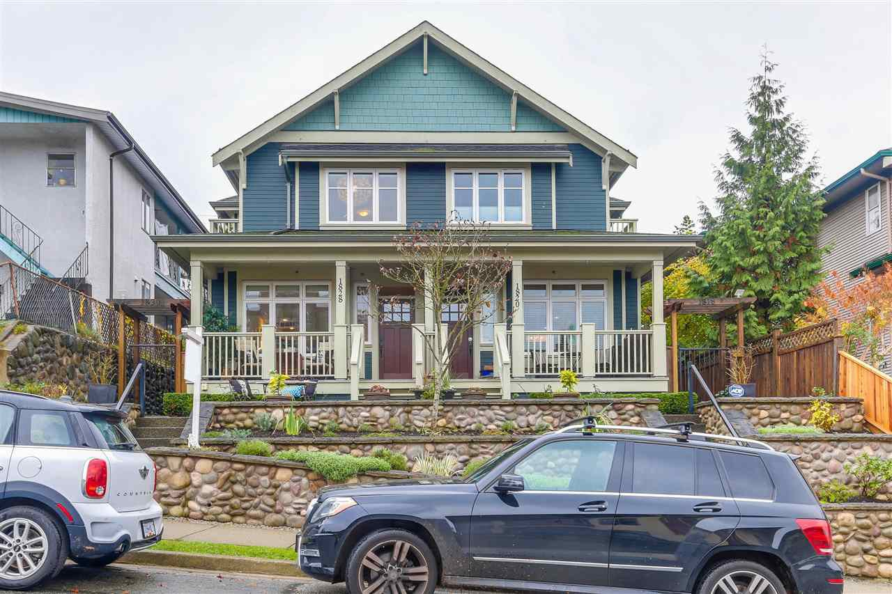 "Main Photo: 1828 E GEORGIA Street in Vancouver: Hastings Townhouse for sale in ""GEORGIA COURT"" (Vancouver East)  : MLS®# R2223833"