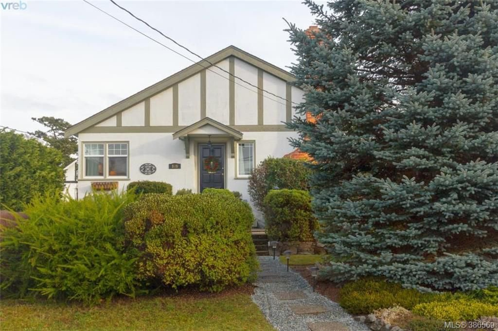 Main Photo: 835 Linkleas Ave in VICTORIA: OB South Oak Bay House for sale (Oak Bay)  : MLS®# 776943