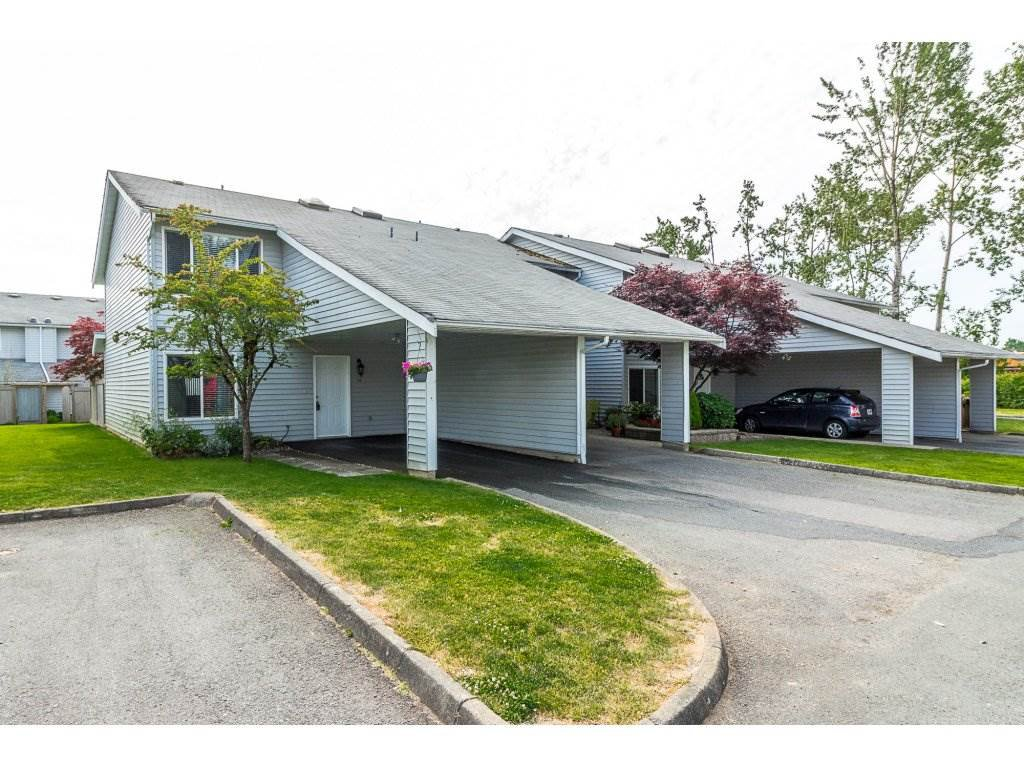 "Main Photo: 16 26970 32 Avenue in Langley: Aldergrove Langley Townhouse for sale in ""PARKSIDE"" : MLS®# R2276782"