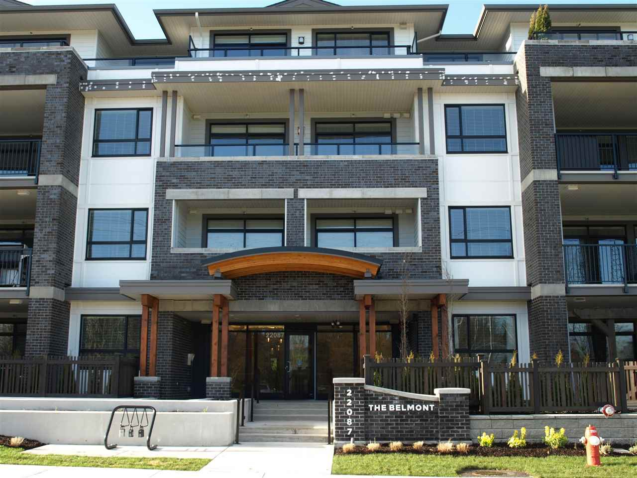 "Main Photo: 203 22087 49 Avenue in Langley: Murrayville Condo for sale in ""The Belmont in Murrayville"" : MLS®# R2352425"