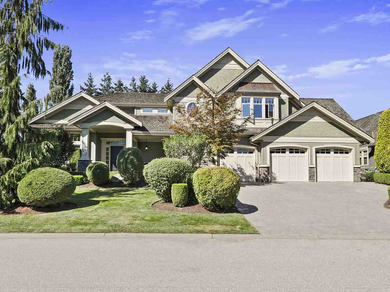 Main Photo: 15845 39A Ave in South Surrey: Morgan Creek House for sale (South Surrey White Rock)  : MLS®# R2493602