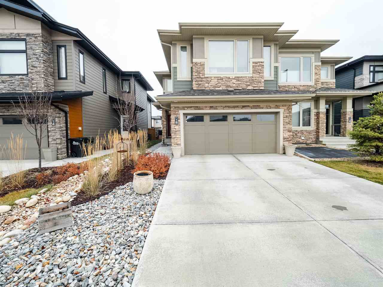 Main Photo: 16 FOSBURY Link: Sherwood Park Attached Home for sale : MLS®# E4220525