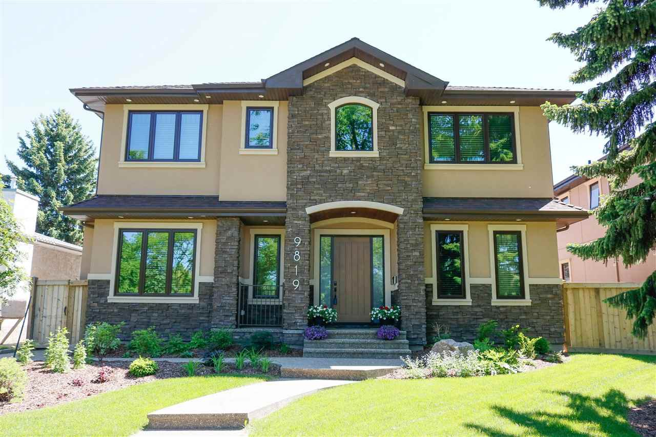 Main Photo: 9819 147 Street NW in Edmonton: Zone 10 House for sale : MLS®# E4220789
