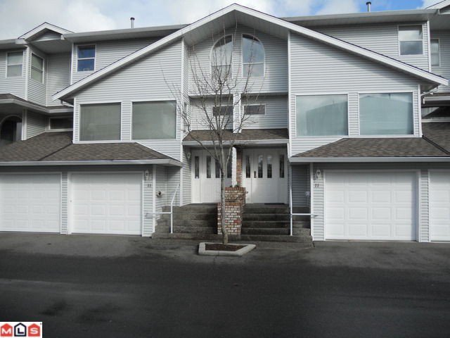 """Main Photo: 23 16363 85TH Avenue in Surrey: Fleetwood Tynehead Townhouse for sale in """"SOMERSET LANE"""" : MLS®# F1116278"""