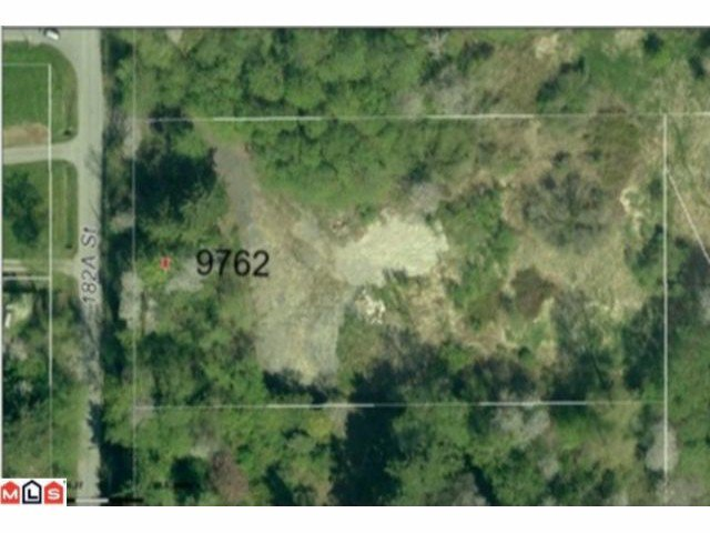 "Main Photo: 9762 182A ST in Surrey: Fraser Heights Land for sale in ""Fraser Heights"" (North Surrey)  : MLS®# F1200871"