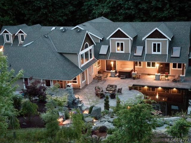Main Photo: 3321 Arrowsmith Rd in NANAIMO: Na Uplands House for sale (Nanaimo)  : MLS®# 674773