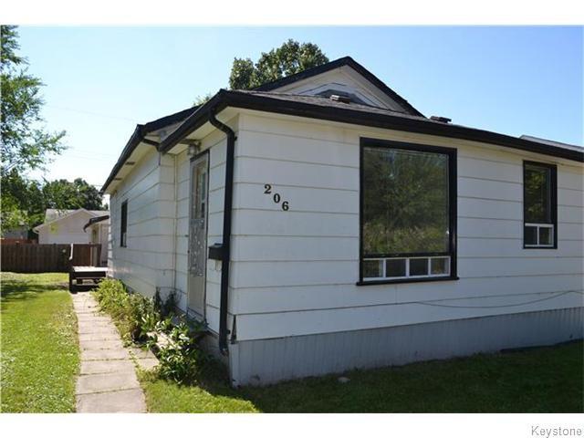 Main Photo: 206 Havelock Avenue in WINNIPEG: St Vital Residential for sale (South East Winnipeg)  : MLS®# 1523267