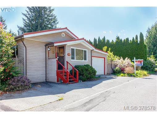 Main Photo: 52 2911 Sooke Lake Rd in VICTORIA: La Goldstream Manufactured Home for sale (Langford)  : MLS®# 760247