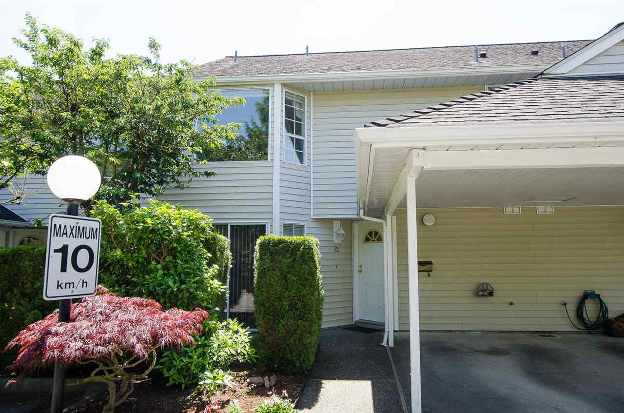 Main Photo: 12 7360 MINORU BOULEVARD in Richmond: Brighouse South Townhouse for sale