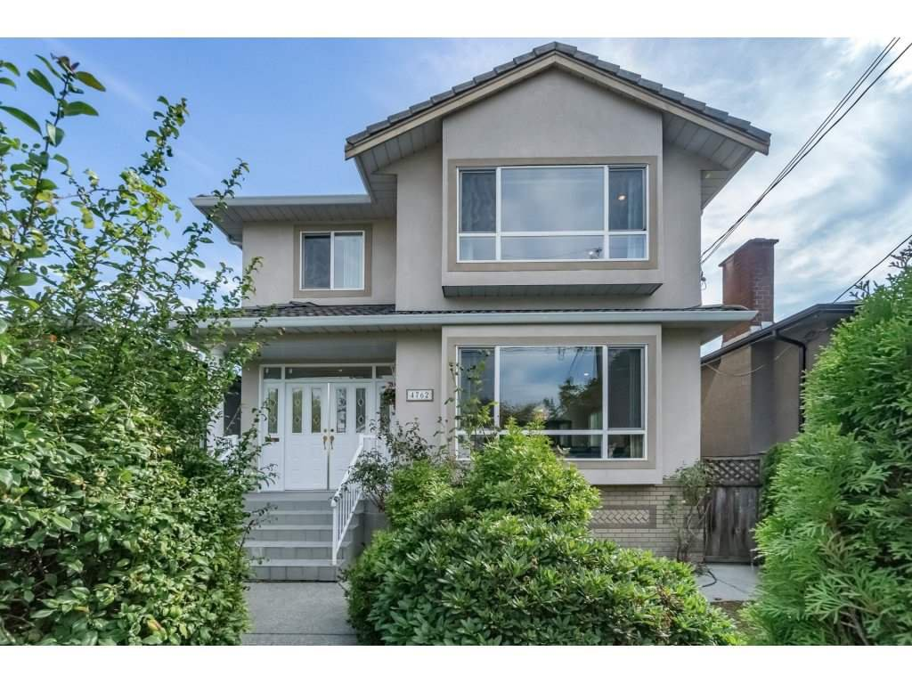Main Photo: 4762 GOTHARD Street in Vancouver: Collingwood VE House for sale (Vancouver East)  : MLS®# R2209428
