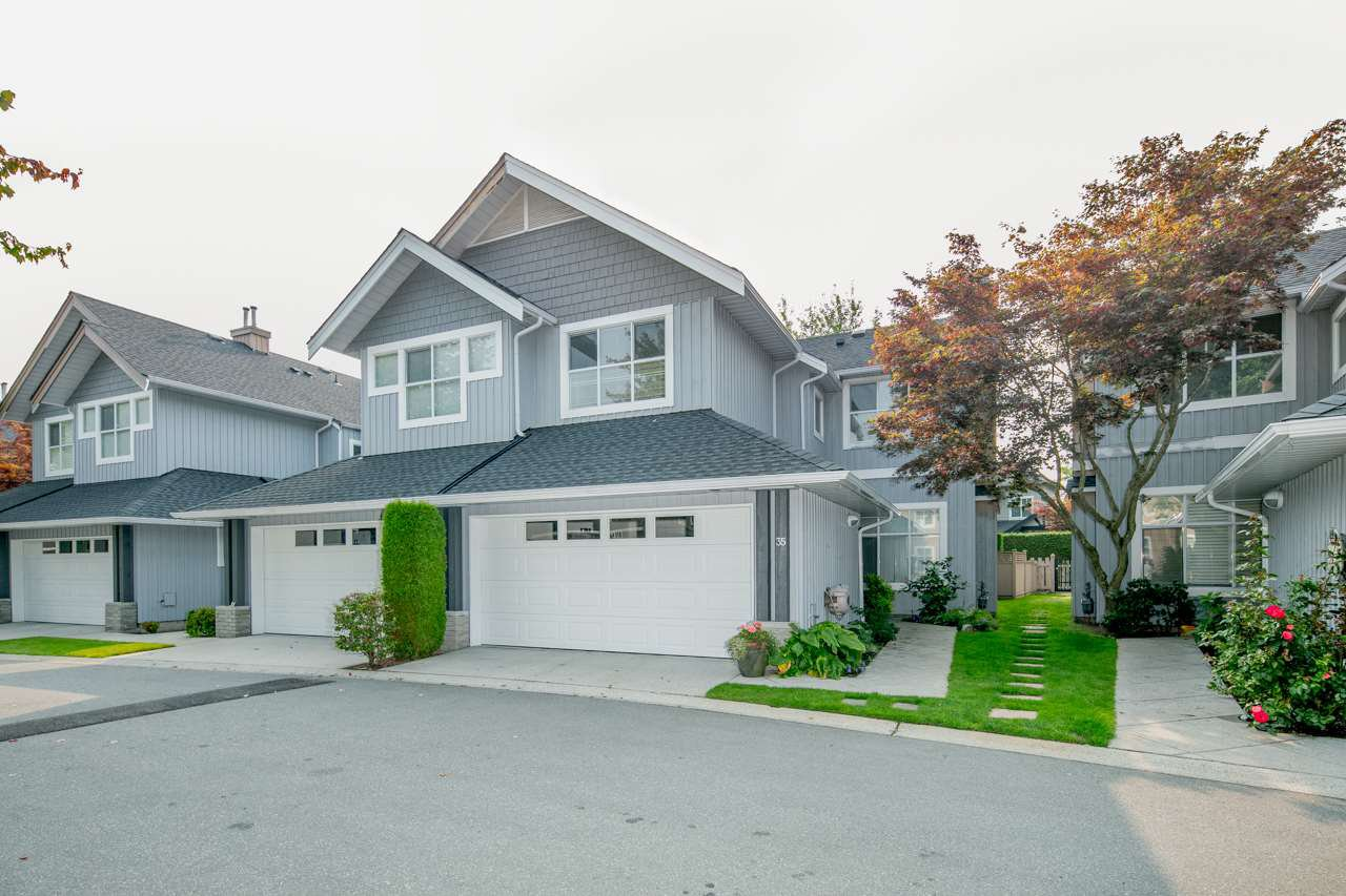 "Main Photo: 35 3555 WESTMINSTER Highway in Richmond: Terra Nova Townhouse for sale in ""SOMONA"" : MLS®# R2295997"