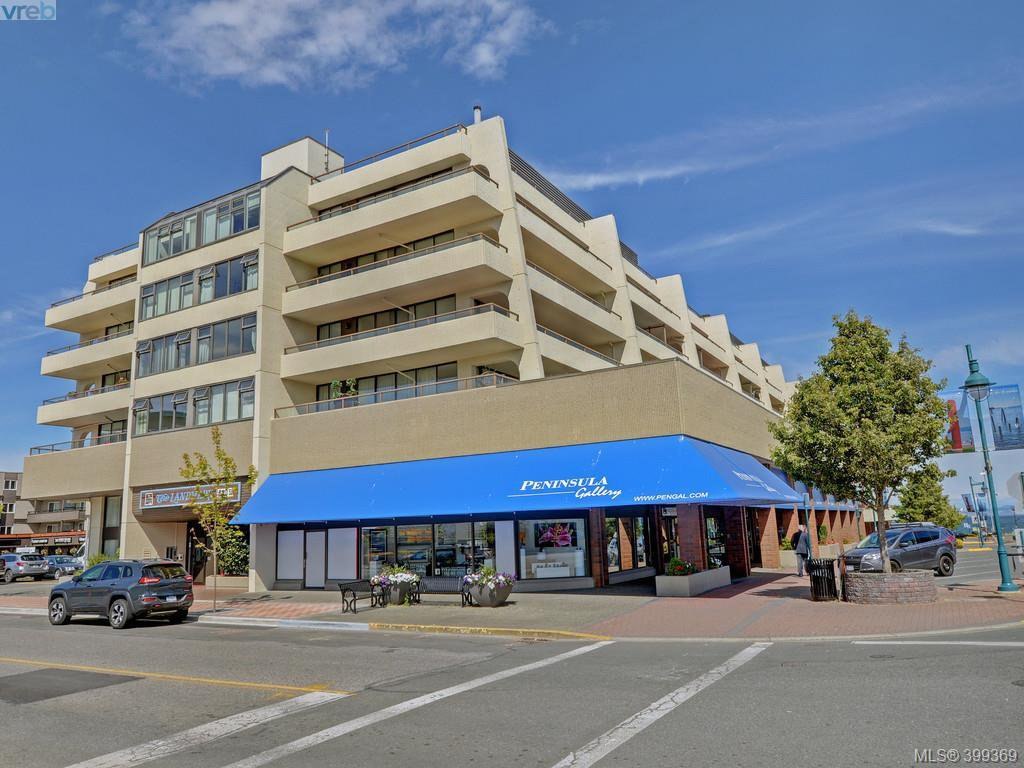 Main Photo: 212 9805 Second Street in SIDNEY: Si Sidney North-East Condo Apartment for sale (Sidney)  : MLS®# 399369