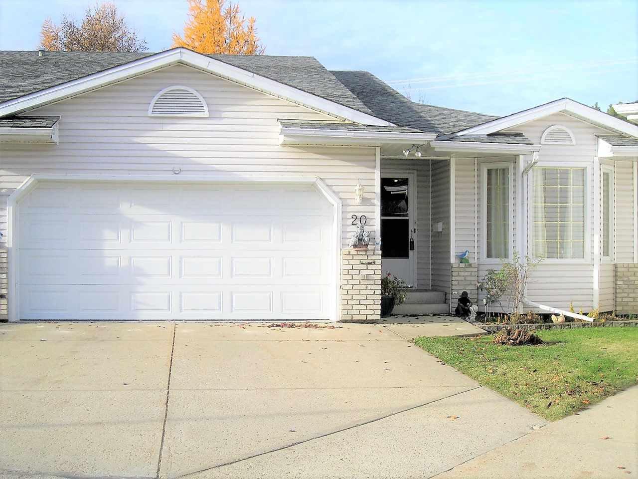 Main Photo: 20 2A FIELDSTONE Drive: Spruce Grove House Half Duplex for sale : MLS®# E4163940