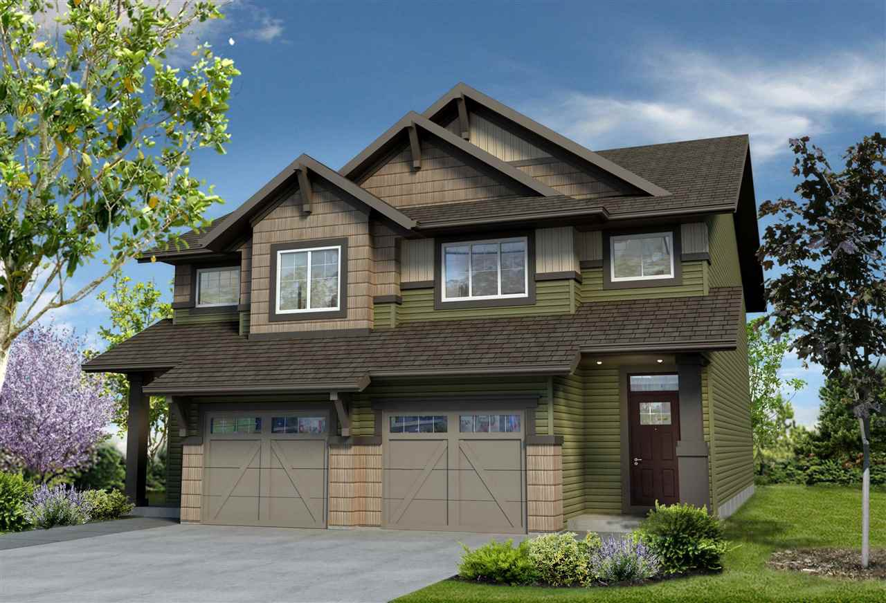 Main Photo: 2248 Chokecherry Close in Edmonton: Zone 53 House Half Duplex for sale : MLS®# E4164866