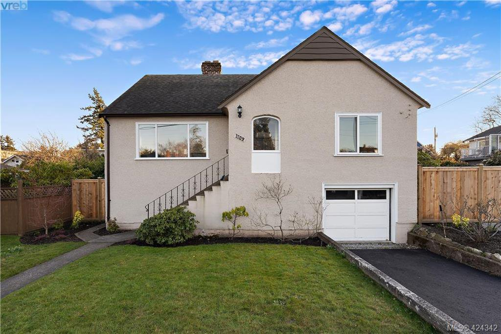 Main Photo: 1109 Lyall Street in VICTORIA: Es Saxe Point Single Family Detached for sale (Esquimalt)  : MLS®# 424342