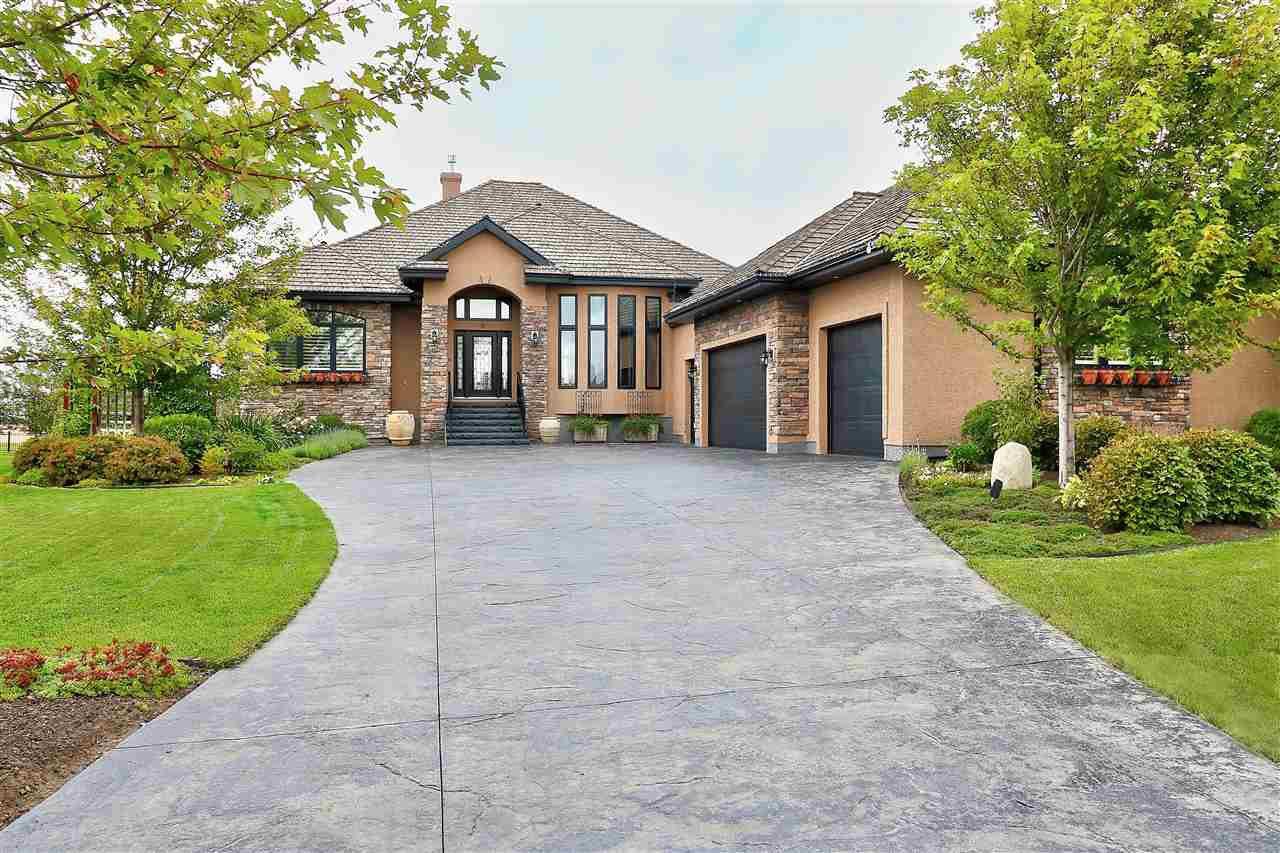 Main Photo: 6 RIVERRIDGE Crescent: Rural Sturgeon County House for sale : MLS®# E4200695