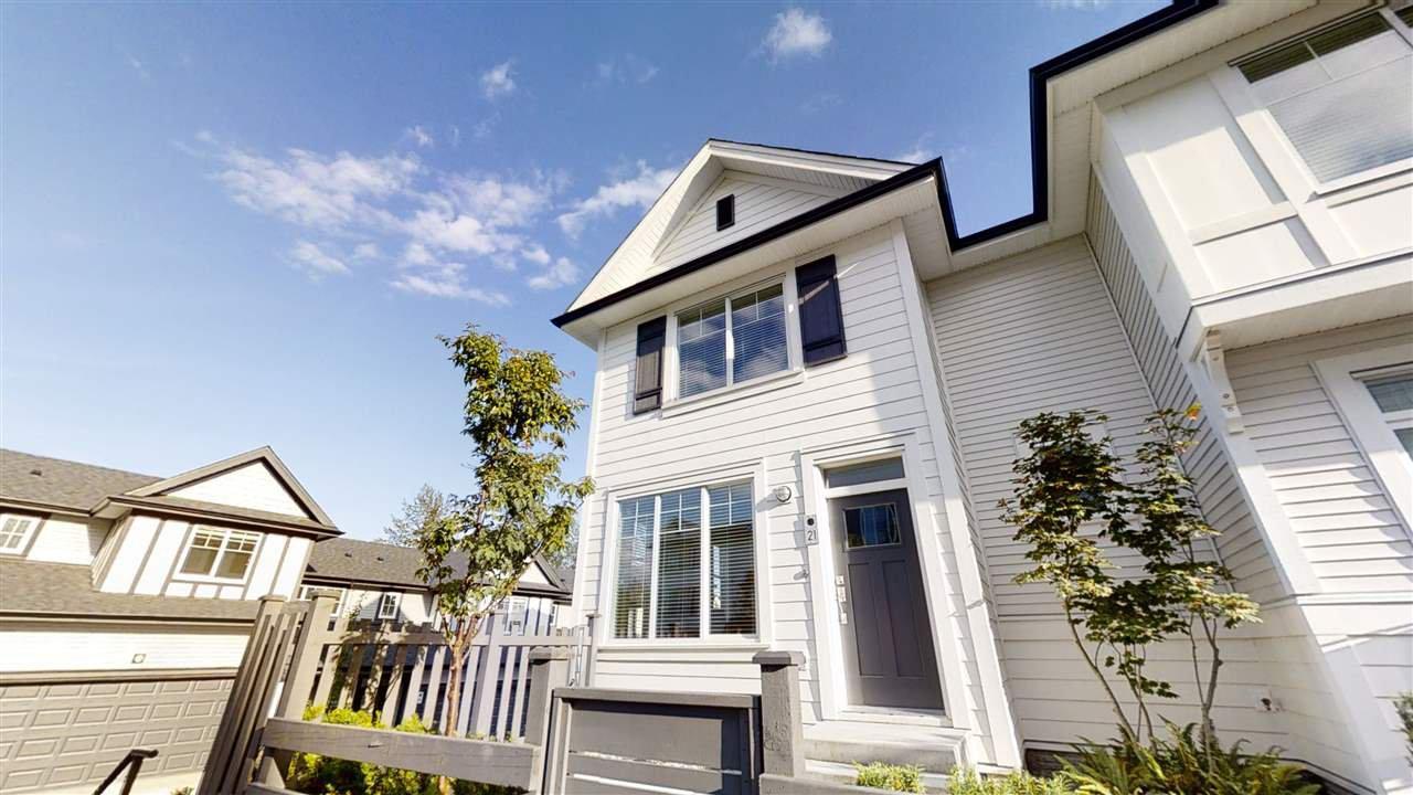 "Main Photo: 21 11272 240 Street in Maple Ridge: Cottonwood MR Townhouse for sale in ""WILLOW & OAK"" : MLS®# R2463971"