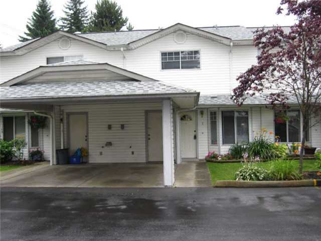 "Main Photo: 2 11757 207TH Street in Maple Ridge: Southwest Maple Ridge Townhouse for sale in ""HIDDEN CREEK ESTATES"" : MLS®# V908769"