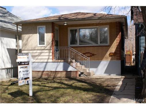 Main Photo: 1867 TORONTO Street in Regina: General Hospital Single Family Dwelling for sale (Regina Area 03)  : MLS®# 501275
