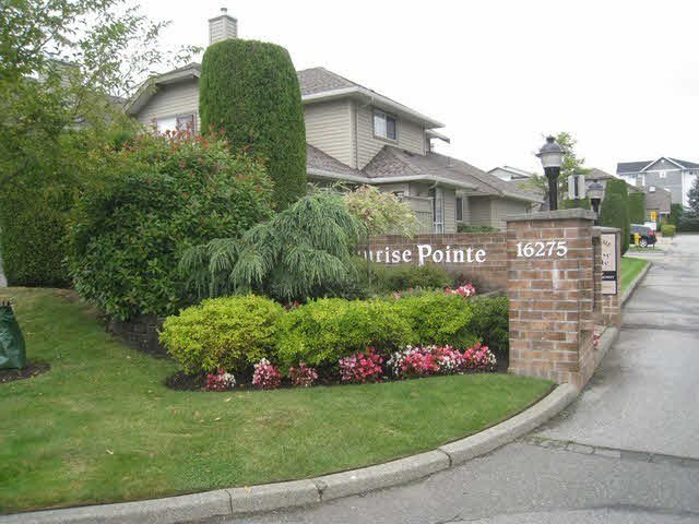 "Main Photo: 137 16275 15TH Avenue in Surrey: King George Corridor Townhouse for sale in ""SURNISE POINTE"" (South Surrey White Rock)  : MLS®# F1430886"