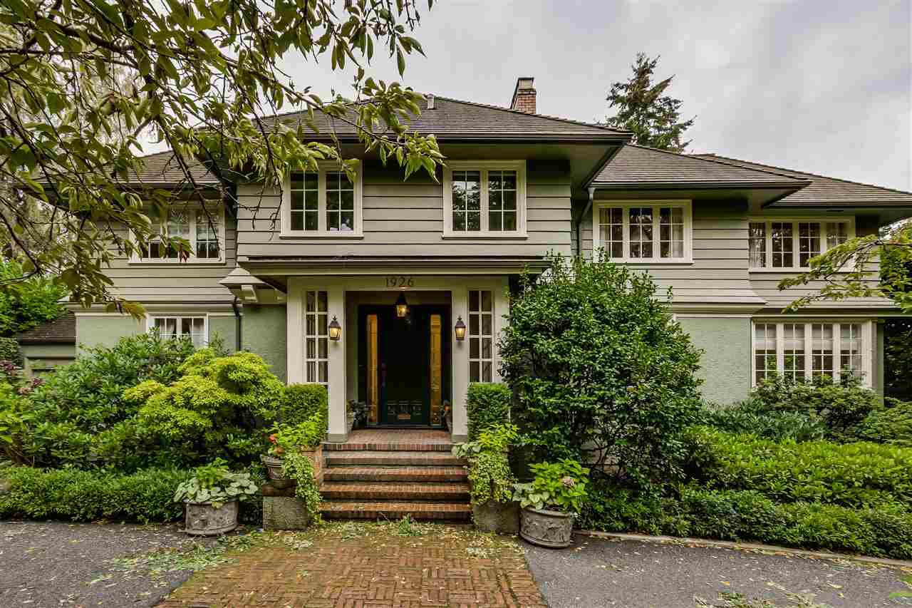"Main Photo: 1926 MATTHEWS Avenue in Vancouver: Shaughnessy House for sale in ""1st Shaughnessy"" (Vancouver West)  : MLS®# R2005501"