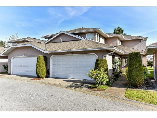 "Main Photo: 162 15501 89A Avenue in Surrey: Fleetwood Tynehead Townhouse for sale in ""AVONDALE"" : MLS®# R2058419"