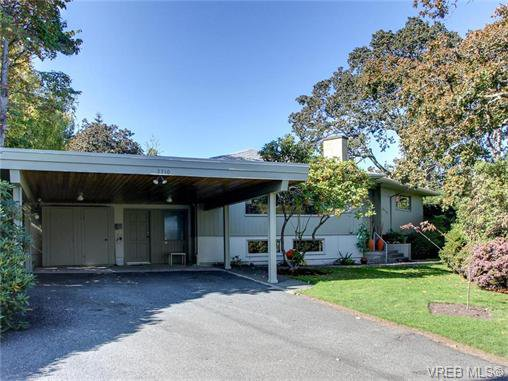 Main Photo: 3710 Crestview Rd in VICTORIA: OB Henderson House for sale (Oak Bay)  : MLS®# 743381