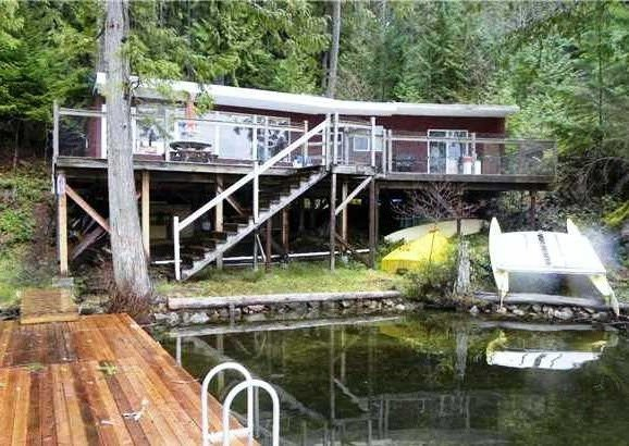 Main Photo: DL6707 SAKINAW LAKE in Pender Harbour: Pender Harbour Egmont House for sale (Sunshine Coast)  : MLS®# R2124421