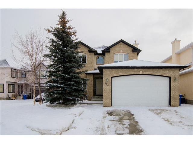 Main Photo: 243 STRATHRIDGE Place SW in Calgary: Strathcona Park House for sale : MLS®# C4101454