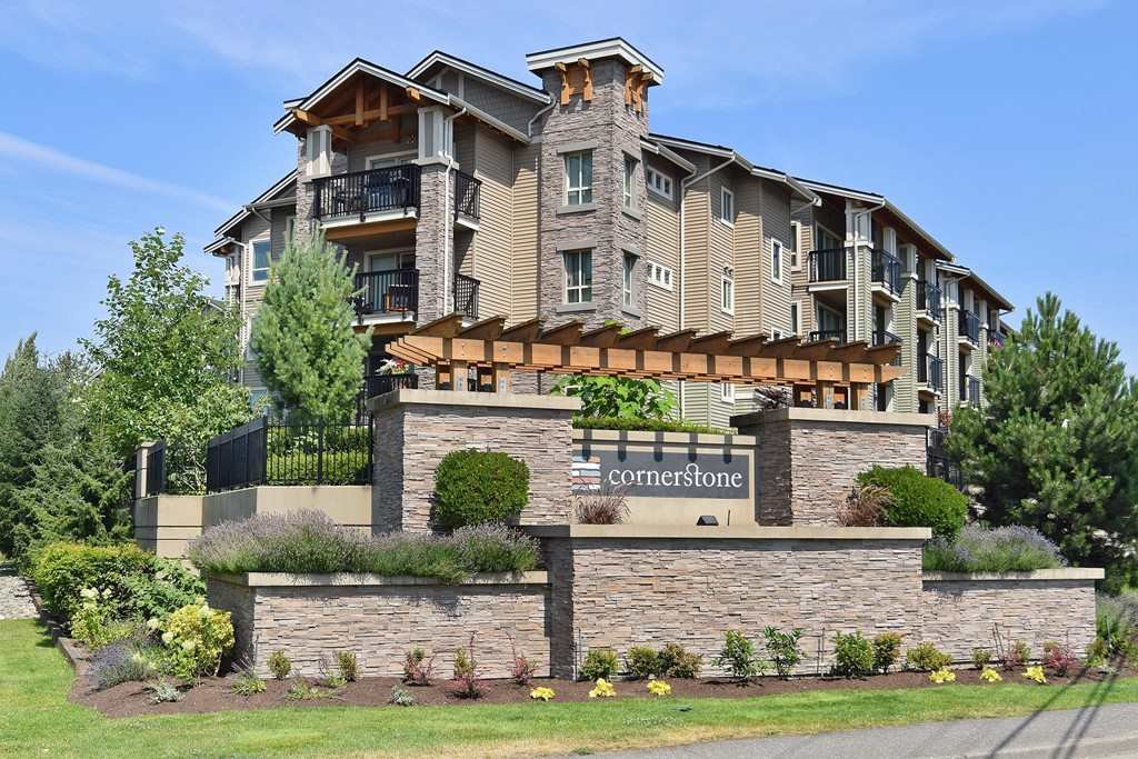 "Main Photo: 422 21009 56TH Avenue in Langley: Salmon River Condo for sale in ""Cornerstone"" : MLS®# R2264711"