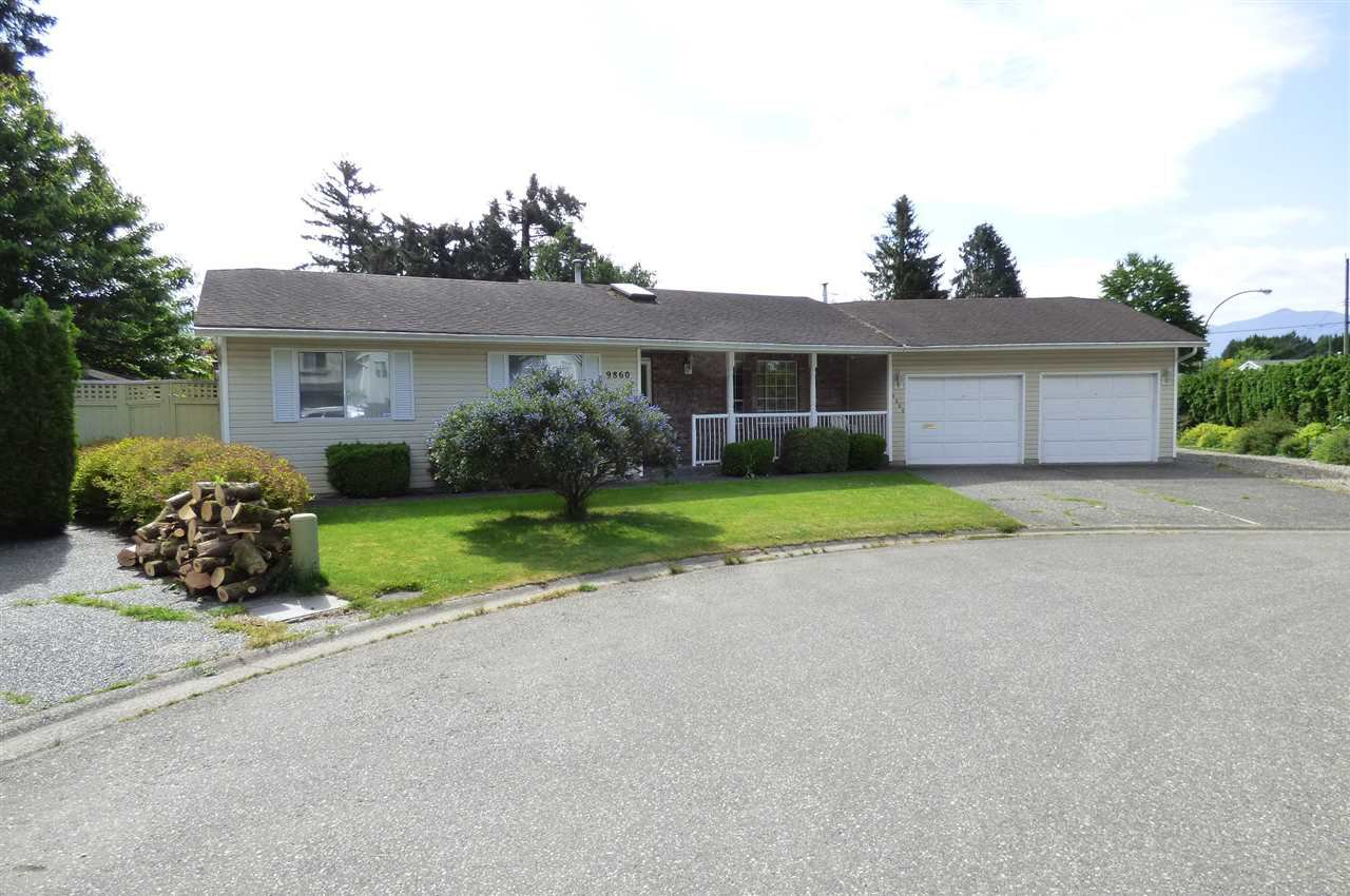 Main Photo: 9860 GOODALL Place in Chilliwack: Chilliwack N Yale-Well House for sale : MLS®# R2272437