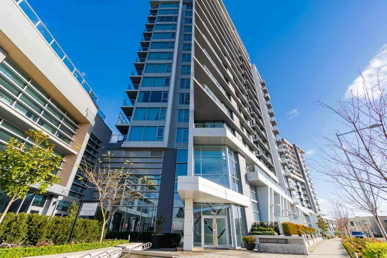 "Main Photo: 902 8333 SWEET Avenue in Richmond: West Cambie Condo for sale in ""AVANTI"" : MLS®# R2345726"