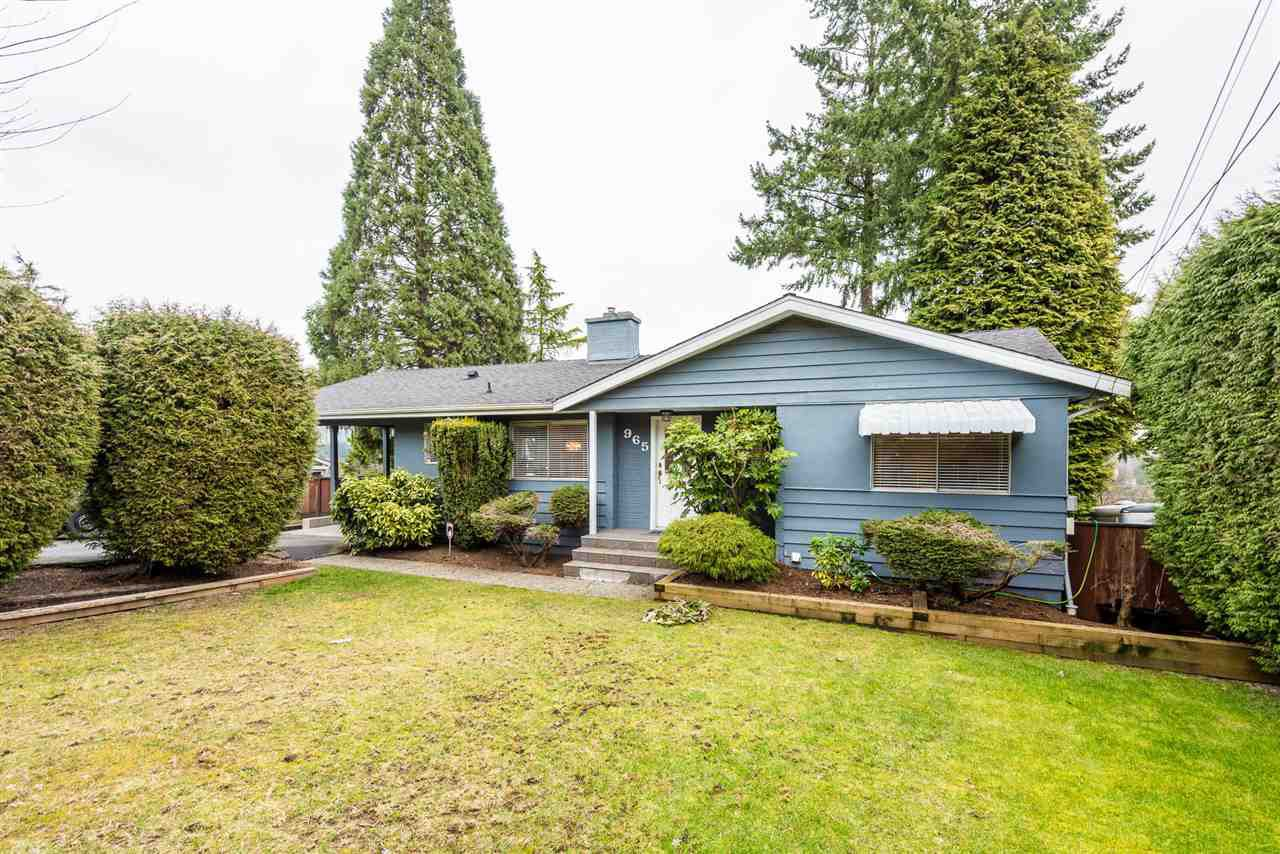 Main Photo: 965 RANCH PARK Way in Coquitlam: Ranch Park House for sale : MLS®# R2379872